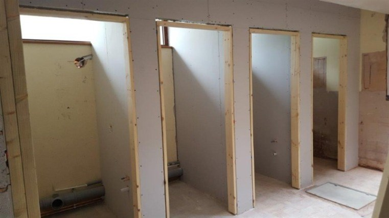 Refurbishment Progress - Month toilets
